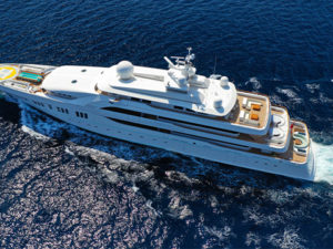 Luxury cruising yachts